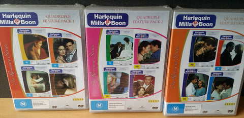 Harlequin - Mills & Boon: The Romance Series - Volume 1, 2 & 3. * New & Sealed *