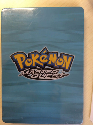 Pokemon; S5 - Master Quest: Limited Edition,Tin Case + Postcards ( DVD) LIKE NEW