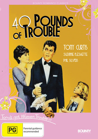 40 Pounds of Trouble (1962) * Norman Jewison * Tony Curtis *