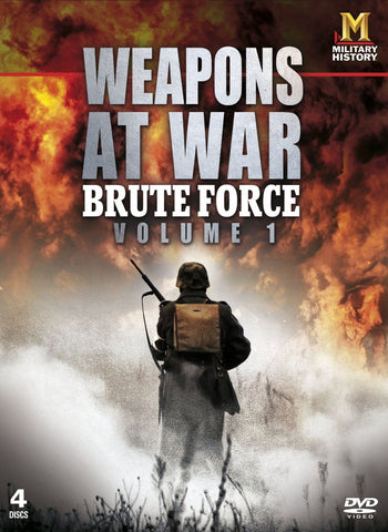 Weapons at War - Brute Force - Volume 1 [DVD] 4 Discs REGION 2 BRAND NEW