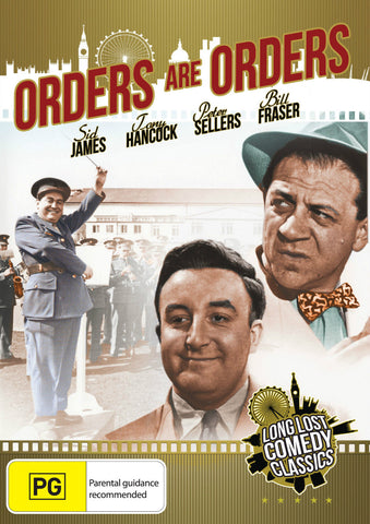 Orders Are Orders (1954) * Peter Sellers * Lost Lost British Comedy Classic *