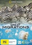 National Geographic - Great Migrations (DVD, 2010, 3 x Disc Set, region 4)