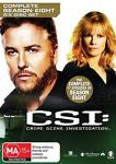 CSI: Crime Scene Investigation : Series 8 (DVD, 2009, 6-Disc Set)