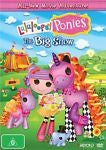 Lalaloopsy Ponies The Big Show - New/Sealed DVD Region 4