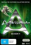 Andromeda : Season 4 (DVD, 2008, 6-Disc Set) BRAND NEW REGION 4