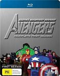 Marvel - The Avengers : The Complete Season 1 (Blu-ray, 4-Disc Set) *Extras*