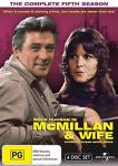 Mcmillan And Wife : Season 5 (DVD, 2011, 4-Disc Set) LIKE NEW REGION 4