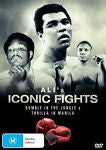 Ali's Iconic Fights (DVD, 2013)