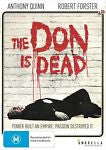 The Don is Dead (1973) * Anthony Quinn * Robert Forster *