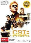 CSI: Miami : Season 6 (DVD, 2010, 6-Disc Set) BRAND NEW REGION 4