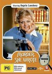 Murder, She Wrote : Season 1 *Angela Lansbury * (DVD, 2015, 6-Disc Set) Region 4