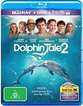 Dolphin Tale 2 (Blu-ray, 2014, 2-Disc Set) Brand New & Sealed !