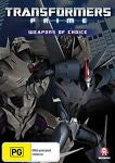 Transformers - Prime - Weapons Of Choice : Season 2 : Vol 3 (DVD, 2013)