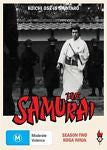 The Samurai - Koga Ninja : Season 2 (DVD, 2010, 3-Disc Set) BRAND NEW