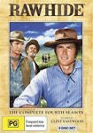 Rawhide : Season 4 (DVD, 2010, 8-Disc Set) Like New Region 4