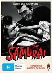 The Samurai - Contest Of Death : Season 10 (DVD, 2010, 3-Disc Set) BRAND NEW