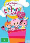 Adventures In Lalaloopsy Land - The Search For Pillow (DVD, 2012)