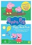 Peppa Pig - Piggy Back Pack : Collection 1 (DVD, 2010, 2-Disc Set) BRAND NEW