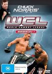 WCL - World Combat League : Season 1 *Chuck Norris * (DVD,6-Disc Set) Brand New