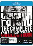 Psycho (Blu-ray / DVD, 2015, 7-Disc Set) BRAND NEW REGION B & REGION 4 DVD
