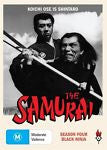 The Samurai - Black Ninja : Season 4 (DVD, 2010, 3-Disc Set) BRAND NEW