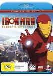 Iron Man Armored Adventures : Season 1 (Blu-ray, 2010, 2-Disc Set) NEW REGION B