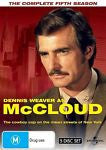 Mccloud : Season 5 (DVD, 2011, 5-Disc Set) LIKE NEW REGION 4