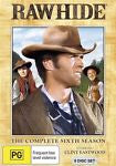 Rawhide : Season 6 (DVD, 2011, 8-Disc Set) Clint Eastwood BRAND NEW REGION 4