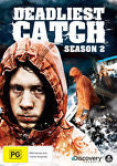 Deadliest Catch : Season 2 (DVD, 2013, 4-Disc Set) BRAND NEW REGION 4