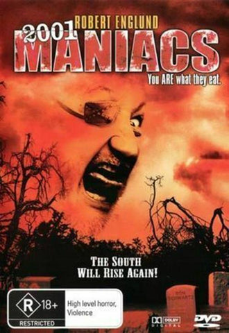 2001 Maniacs (DVD,)  BRAND NEW REGION 4