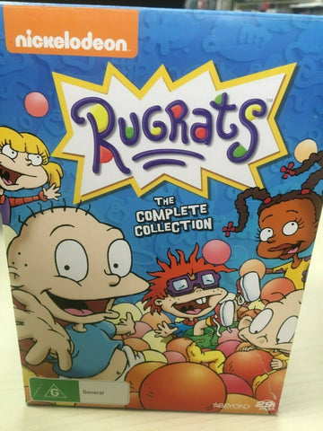 Rugrats :: Complete Collection Seasons 1-9  (DVD, 2017, 29-Disc Set)  REGION 4