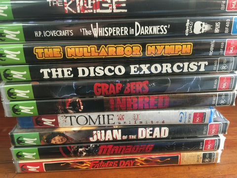 Monster Pictures Bulk Lot 6 *Father's Day, Manborg, Juan of the Dead and more!*