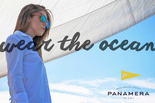 Sunglasses with a nautical style, Wear the Ocean