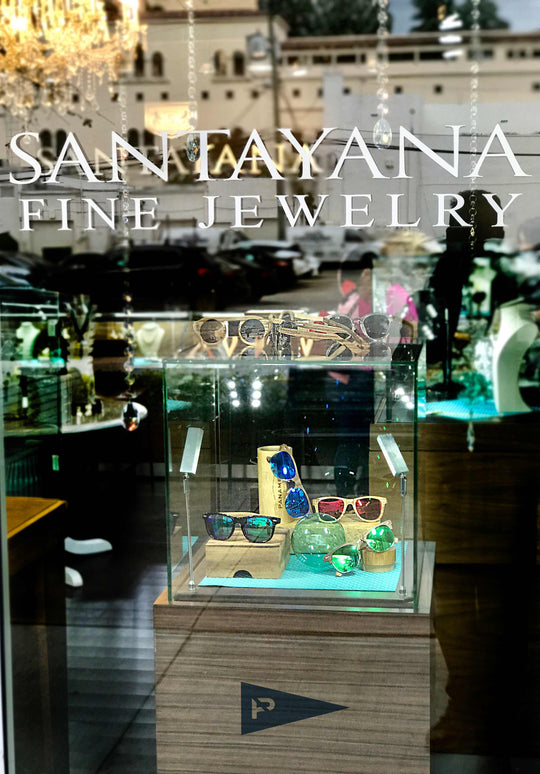 Our sunglasses ar now offered at the Santayana Jewelry Store