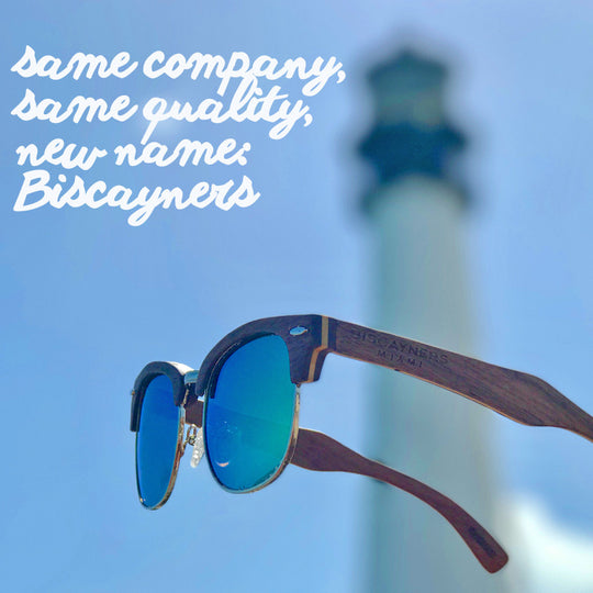 Same company, same quality, new name: Biscayners Sunglasses