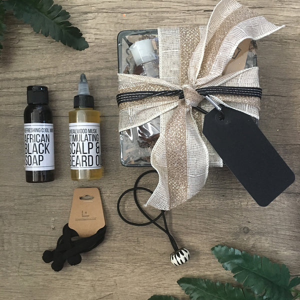 Men's Grooming Scalp & Beard Oil Gift Set - Loccessories™