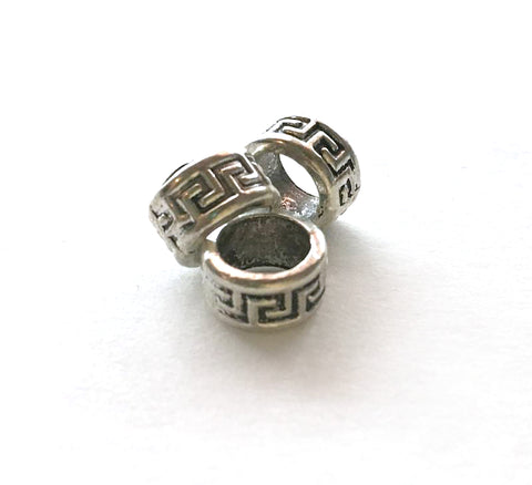"""Greek Key"" Loc Beads - Loccessories™"
