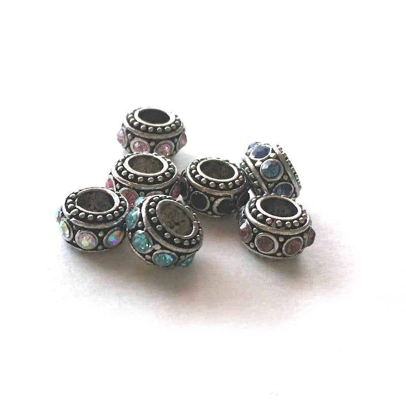 """Bali Bling"" Crystal Loc Beads - Loccessories™"