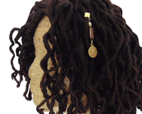 Eye of Horus Unisex Tribal Adjustable Dreadlock Jewelry