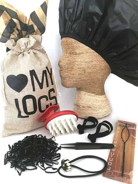 """Love My Locs"" Dreadlock Maintenance Gift Set - Loccessories™"