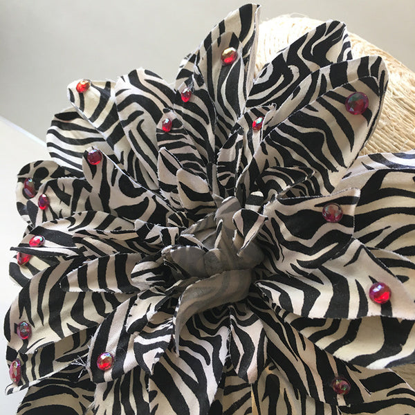 Zebra Fiesta Hair Clip - Loccessories™