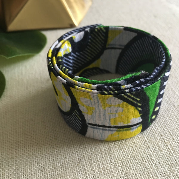 Ankara Magic Wrap Hair Band - Green Gavivi - Loccessories™