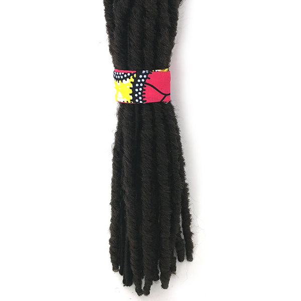 Ankara Magic Wrap Ponytail Hair Band - Achebe - Loccessories™
