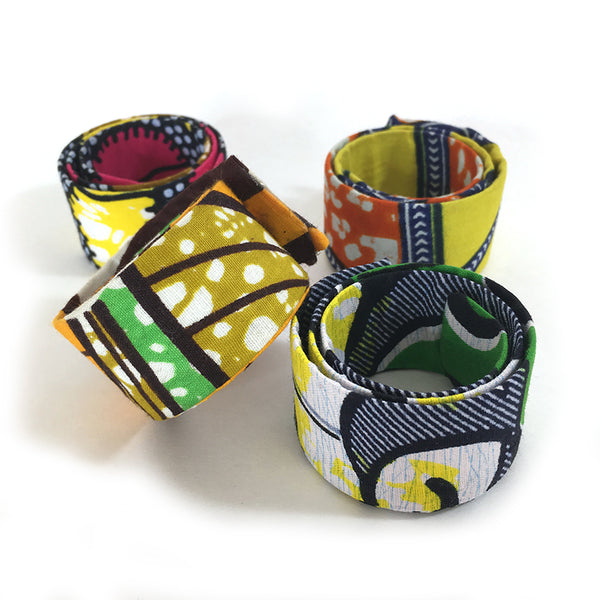 Ankara Magic Wrap Ponytail Hair Band - Okello - Loccessories™
