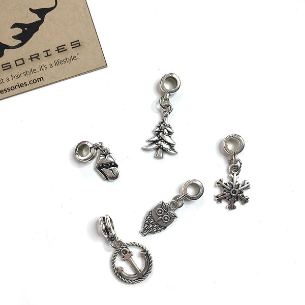 Loc Beads - Assorted Silver Dangles - Loccessories™