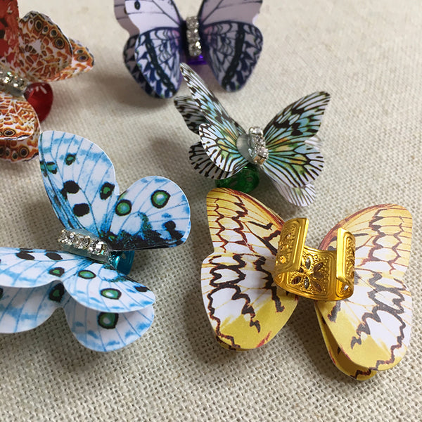 Adjustable Loc Beads - Flutterfly Butterfly - Loccessories™