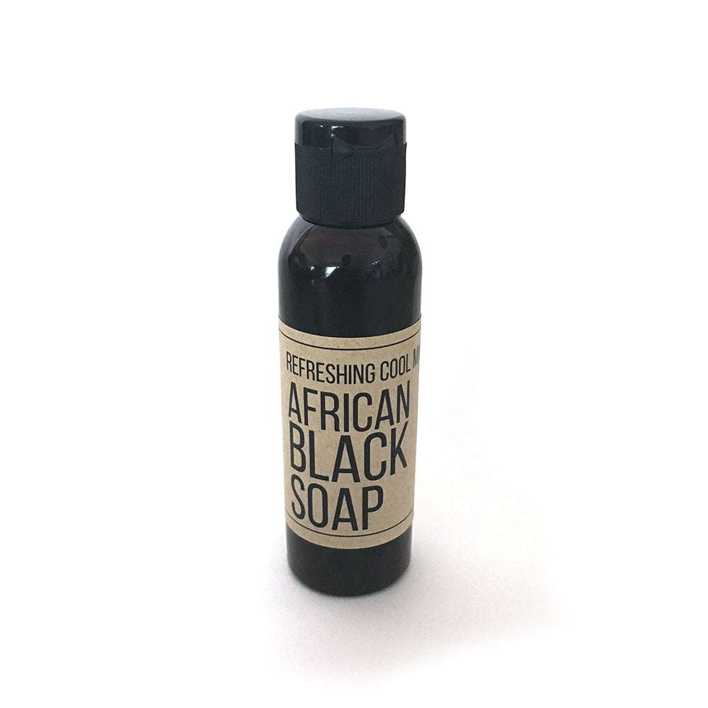 Cool Mint Liquid African Black Soap - Travel Size - Loccessories™