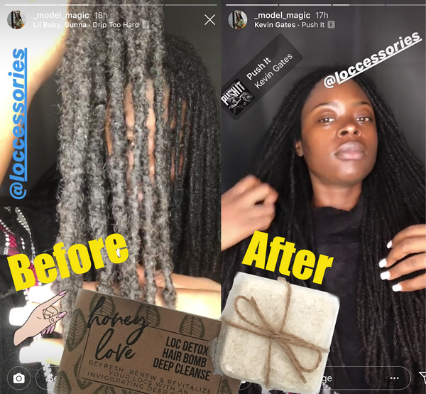 Loc Detox Deep Cleanse Hair Bombs - Loccessories™