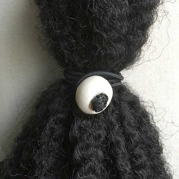 (Wholesale) Cream Bone Loc Tie - 8""