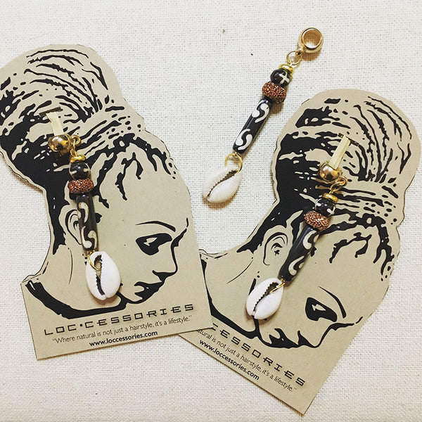 """Batik Chic"" Loc Jewelry - Loccessories™"